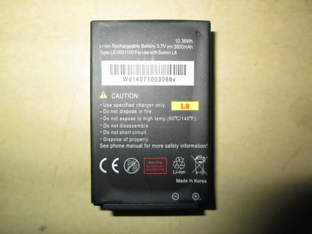 baterai hape outdoor Landrover L8
