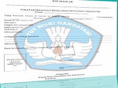Update Blanko Surat Keterangan Kesalahan Penulisan Ijazah/STTB