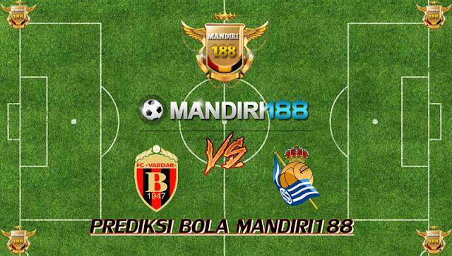 AGEN BOLA - Prediksi Vardar Skopje vs Real Sociedad 20 Oktober 2017