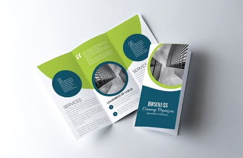 How to Create a Corporate Tri Fold Brochure in Photoshop - Apple