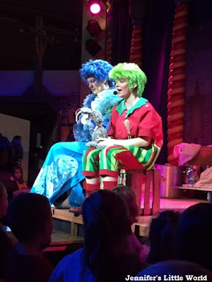 Kids show at Center Parcs, Erperheide