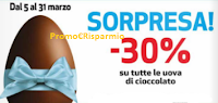 Logo Sconto del 30% su tutte le Uova di Pasqua: ottimizzate con i regali Pernigotti !