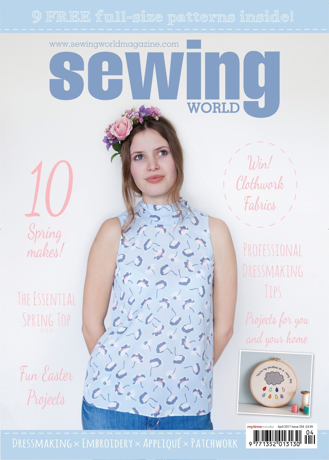 Sewing World Magazine April 2017