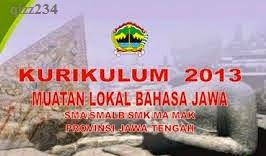 Download Silabus Bahasa Jawa SD/SMP/SMA/SMK Kurikulum 2013 (K13) terbaru