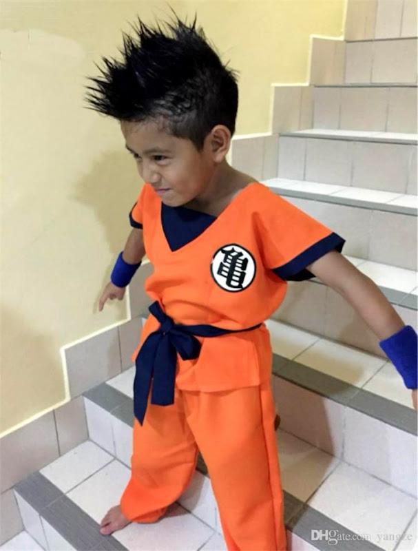 4aa2ecf3 2016 Halloween Costumes Dragon Ball Z DBZ Son Goku Cosplay Costume