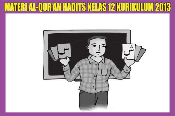 seperti tujuan adanya blog ini untuk memajukan pendidikan di indonesia Materi Al-Qur'an Hadits Kelas 12 SMA Kurikulum 2013