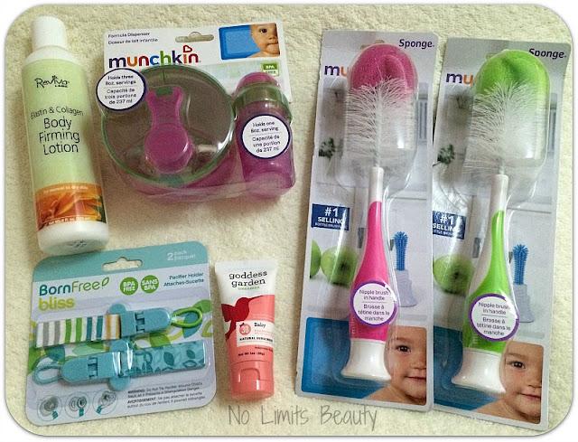 Últimas compras iHerb: especial mamá y bebé