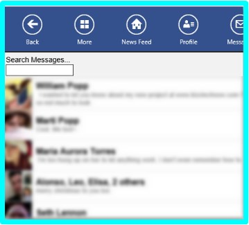 facebook touch apk