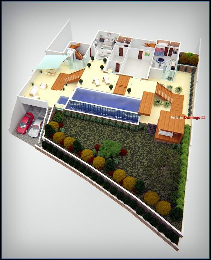 N.K.: 3D Floor Plans