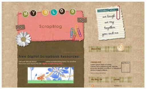 myblogger theme