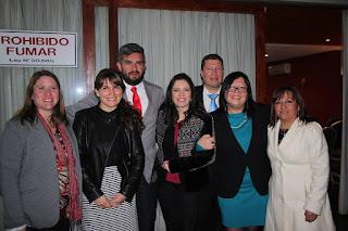 Presidenta Nacional del Colegio de Periodistas encabezó ceremonia de conformación del Consejo Regional Aconcagua