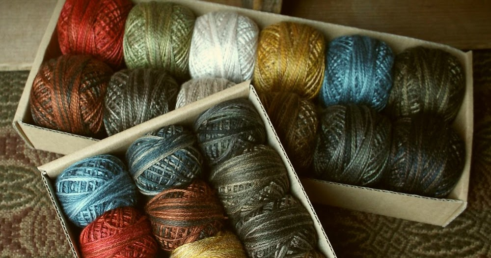 Teresa S Primitive Treasures Valdani Thread Kits