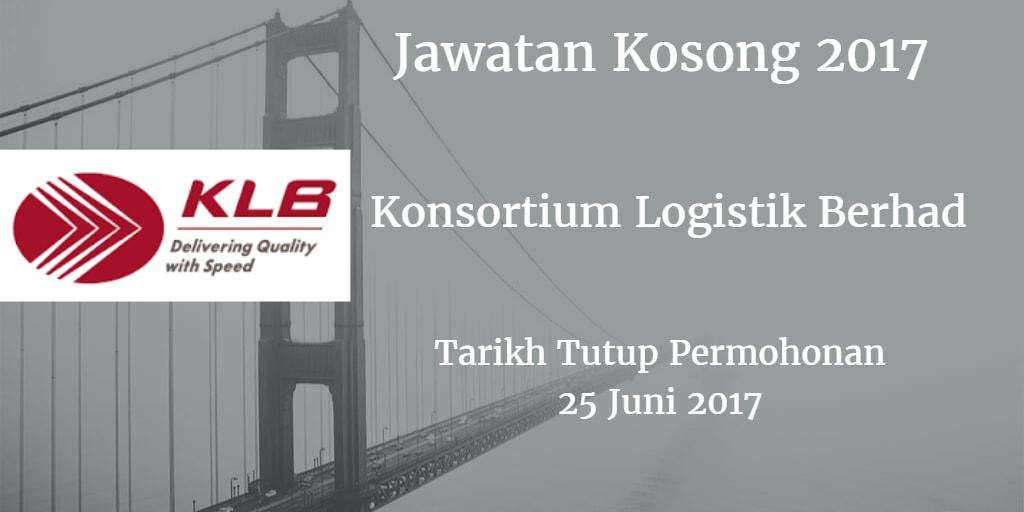 Jawatan Kosong KLB 25 Juni 2017