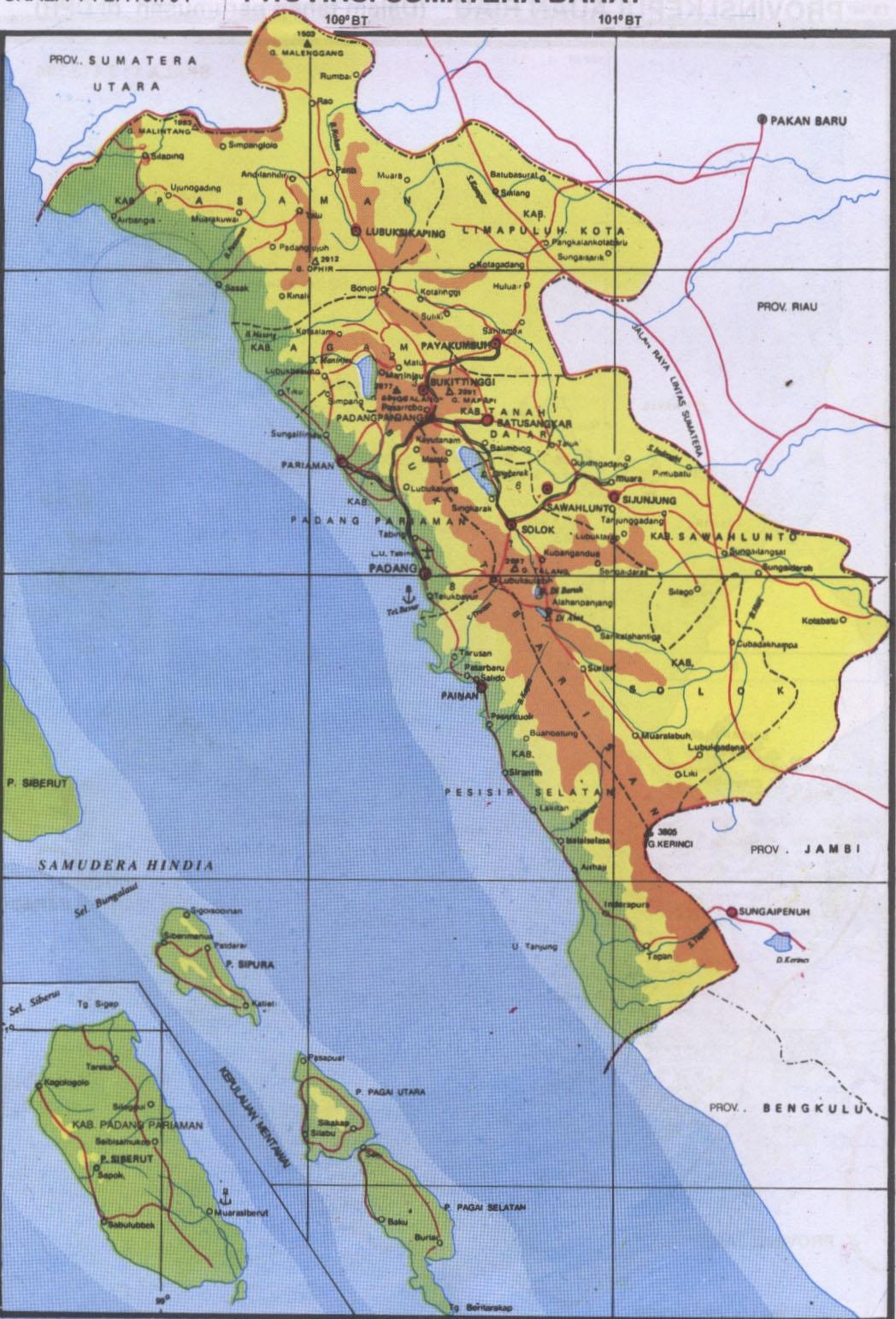 Daftar Nama Tempat Wisata di Sumatera Barat  Yoshiewafa