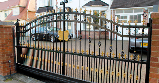 Driveway Gates - Perfect for both home security and appearance