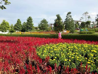 aman Ala Inggeris di Semenyih, Season Flower Show Eco Majestic Semenyih