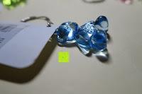 blau Seite: German Trendseller® - 6 x Teddy - Schmuck Anhänger - NEU - ┃ Mitgebsel ┃ Kindergeburtstag ┃ Kristall Bärchen ┃ 6 Stück