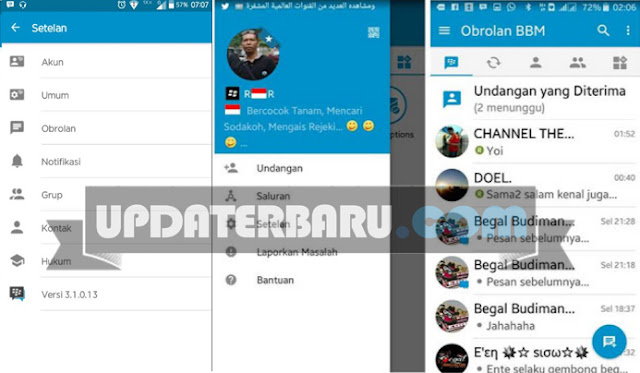 download Update BBM2 Mod Apk Clone Versi Terbaru v3.1.0.13 For Android