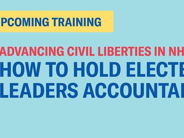 Manchester - Advancing Civil Liberties in NH