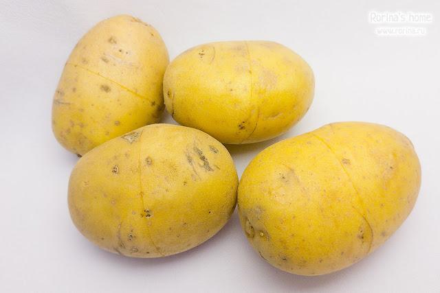 Как почистить картошку быстро?