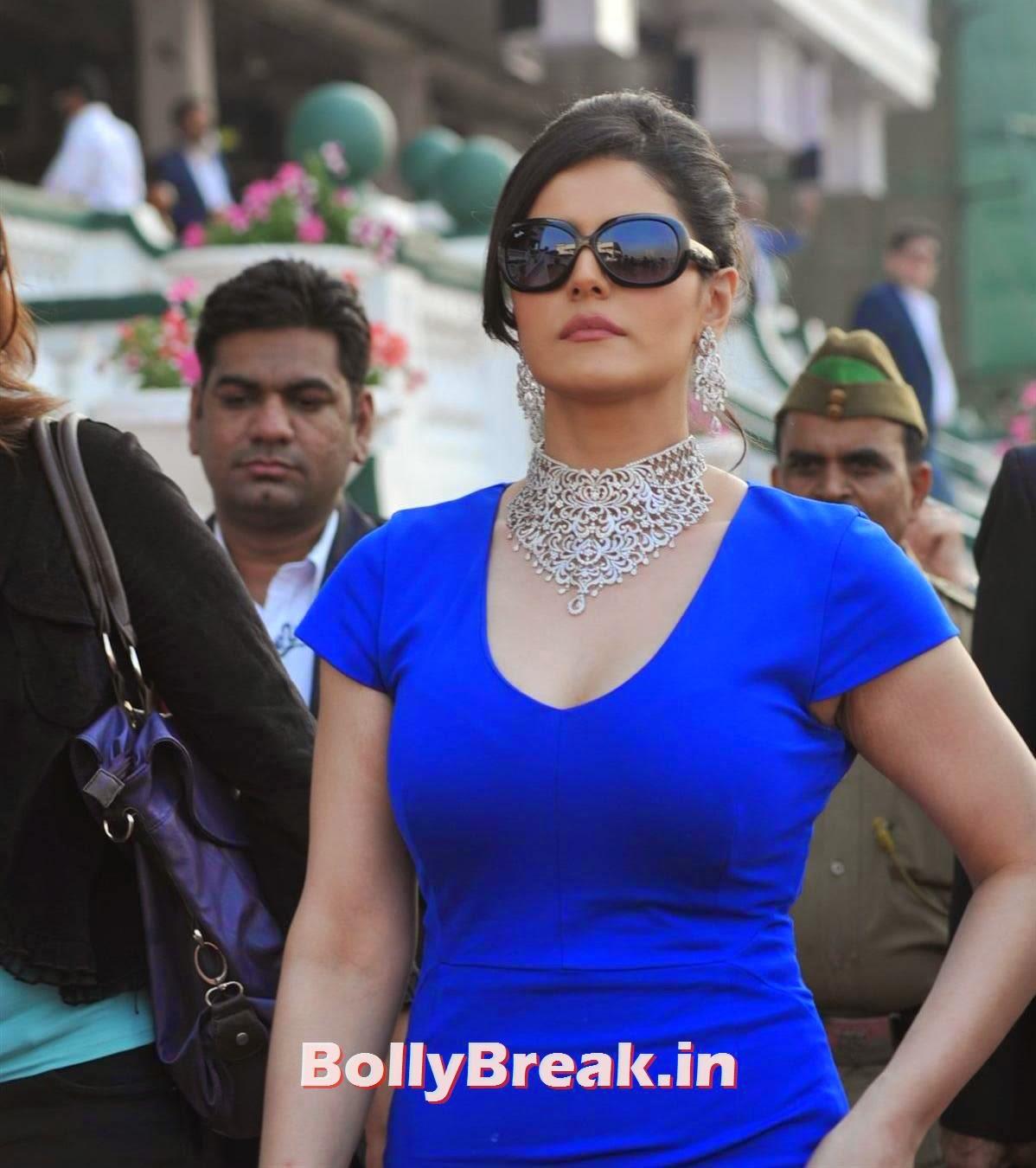 , Zarine Khan Latest hot Photos in Blue Dress