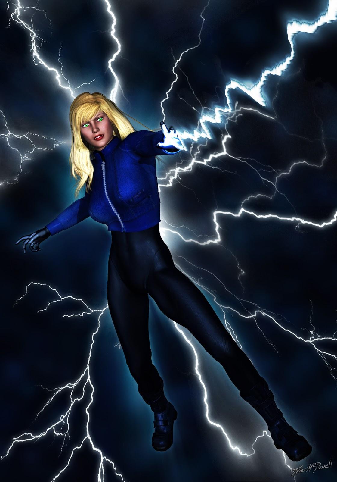Lightening Girl in Arrogance, chapter 3 - Superheroine Blog