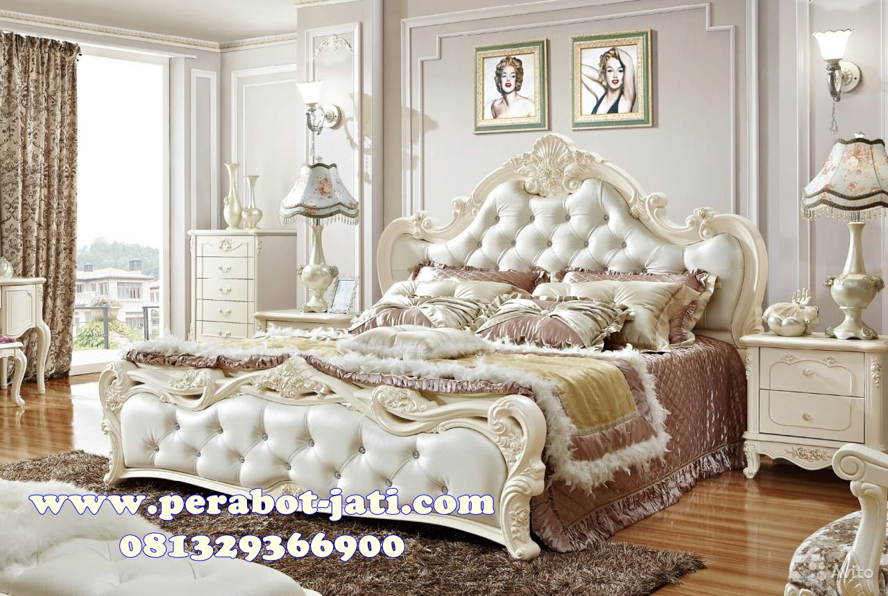 Ranjang Tidur Pengantin Ukir Modern