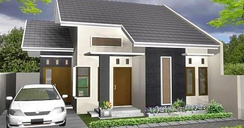 contoh gambar desain rumah minimalis type 60 terbaru
