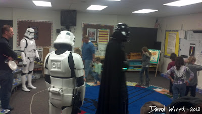 Darth Vader with Storm Troopers