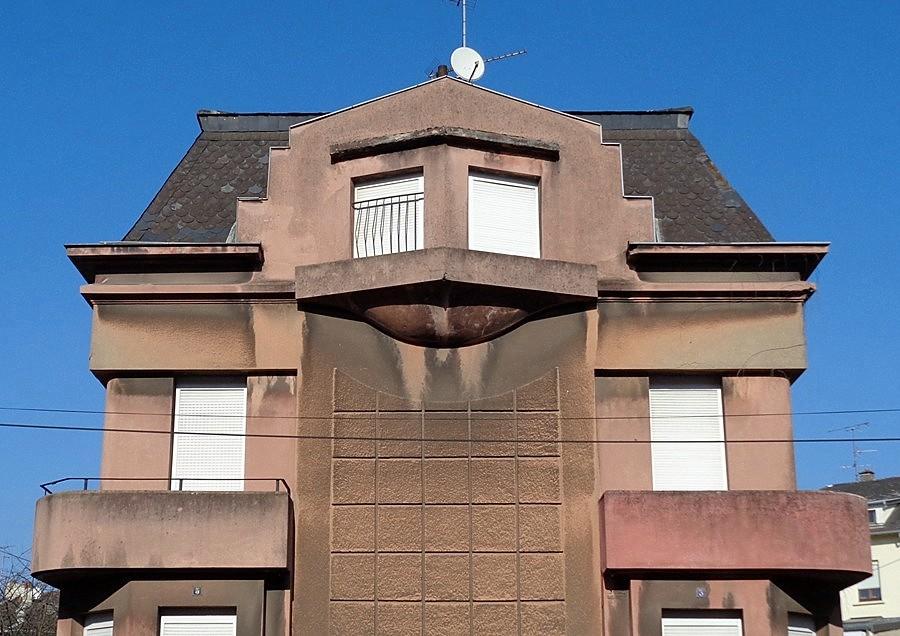 Le pays natal de jlj maisons jumel es de l 39 architecte for Architecte pont a mousson
