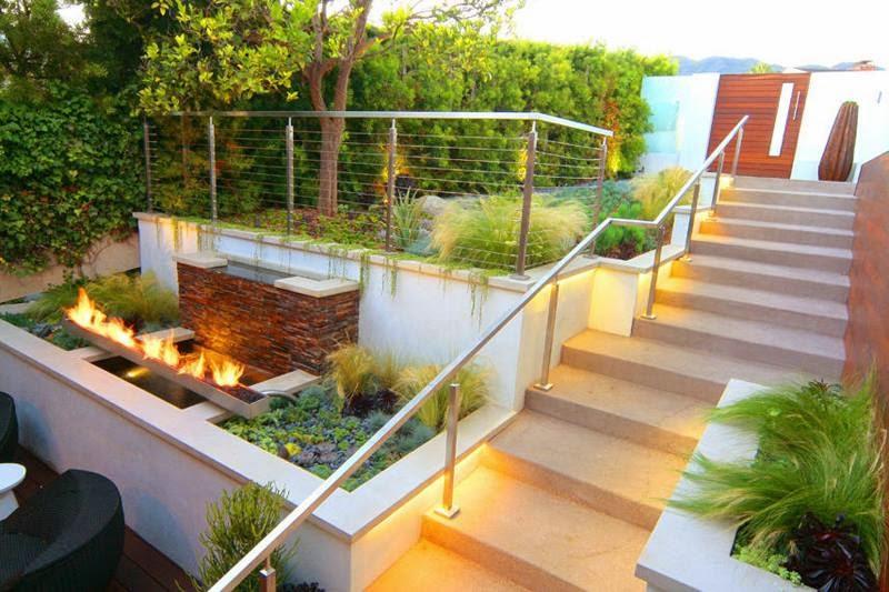 Molto Immagini aiuole e decorazioni per giardino e terrazzo RI26