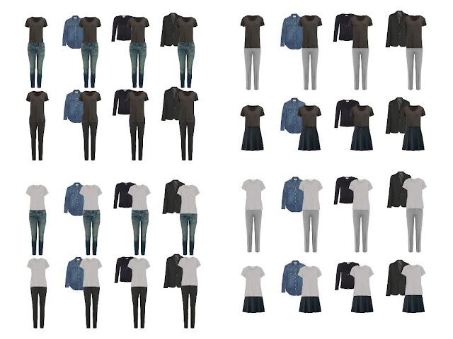 Как составить базовый гардероб
