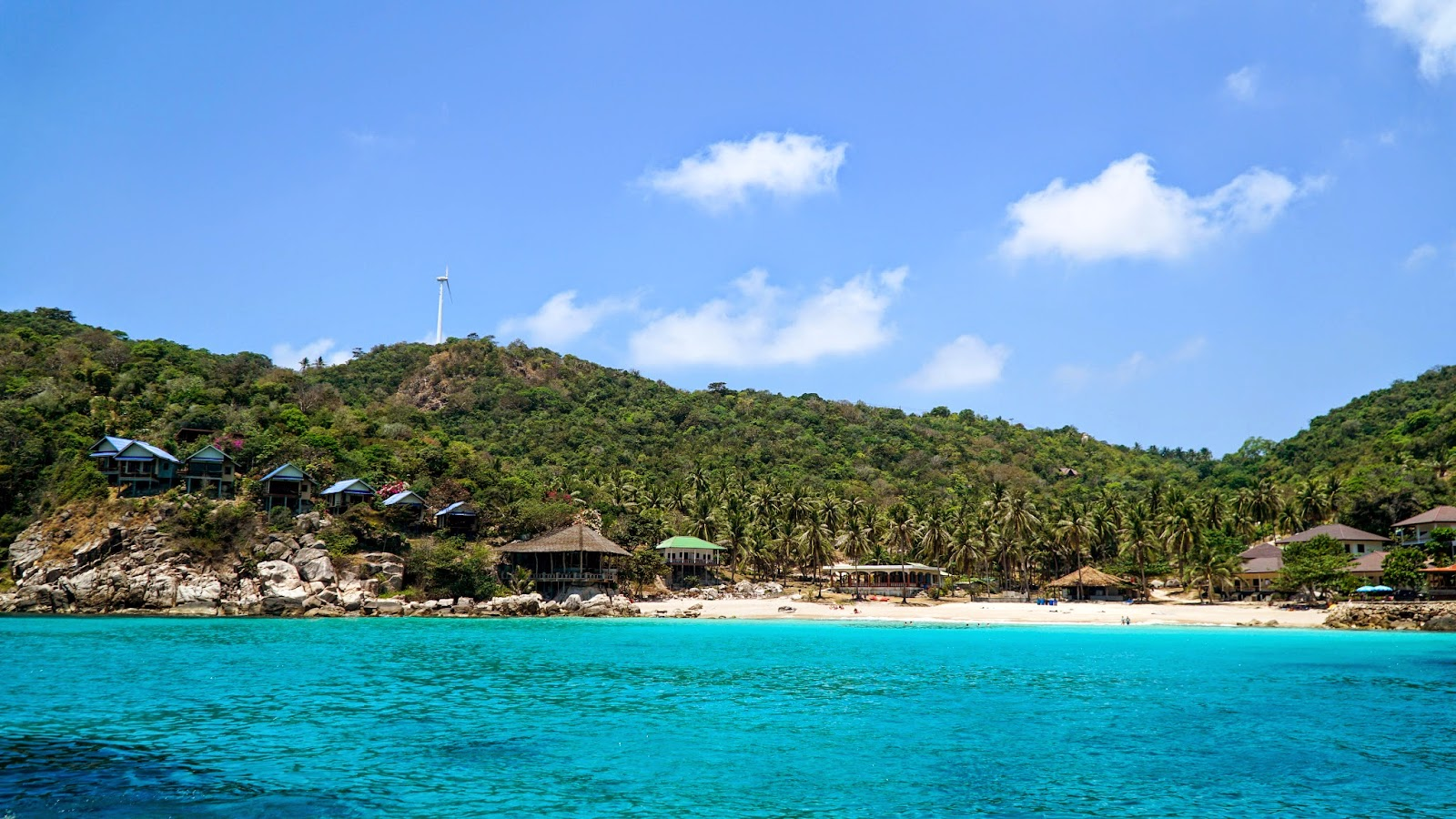 The second snorkeling site, Aow Leuk bay