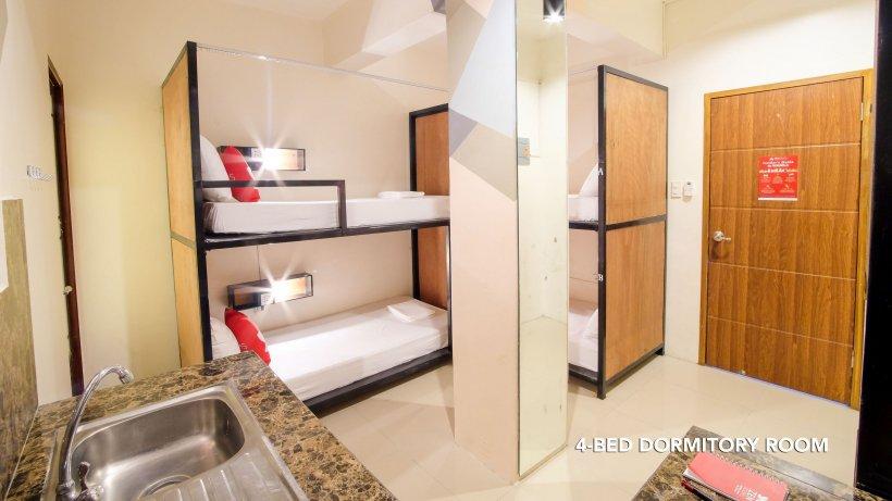 ZEN Hostel Kasipagan Mandaluyong dorm bed