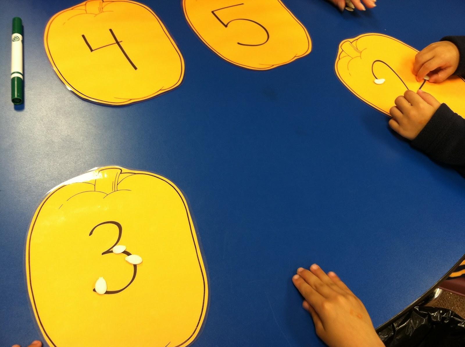 Fun Snacks 4 Kids Counting Pumpkin Seeds