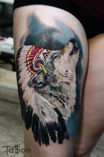 O lobo que uiva