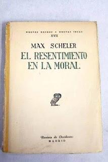 De Max Scheler a Ortega y Gasset. La debilidad femenina como resentimiento y rango vital inferior. Tomás Moreno