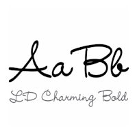 LD Charming Bold font by Scrap N Fonts