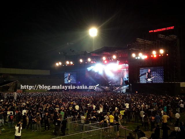 Kuala Lumpur Metallica Concert