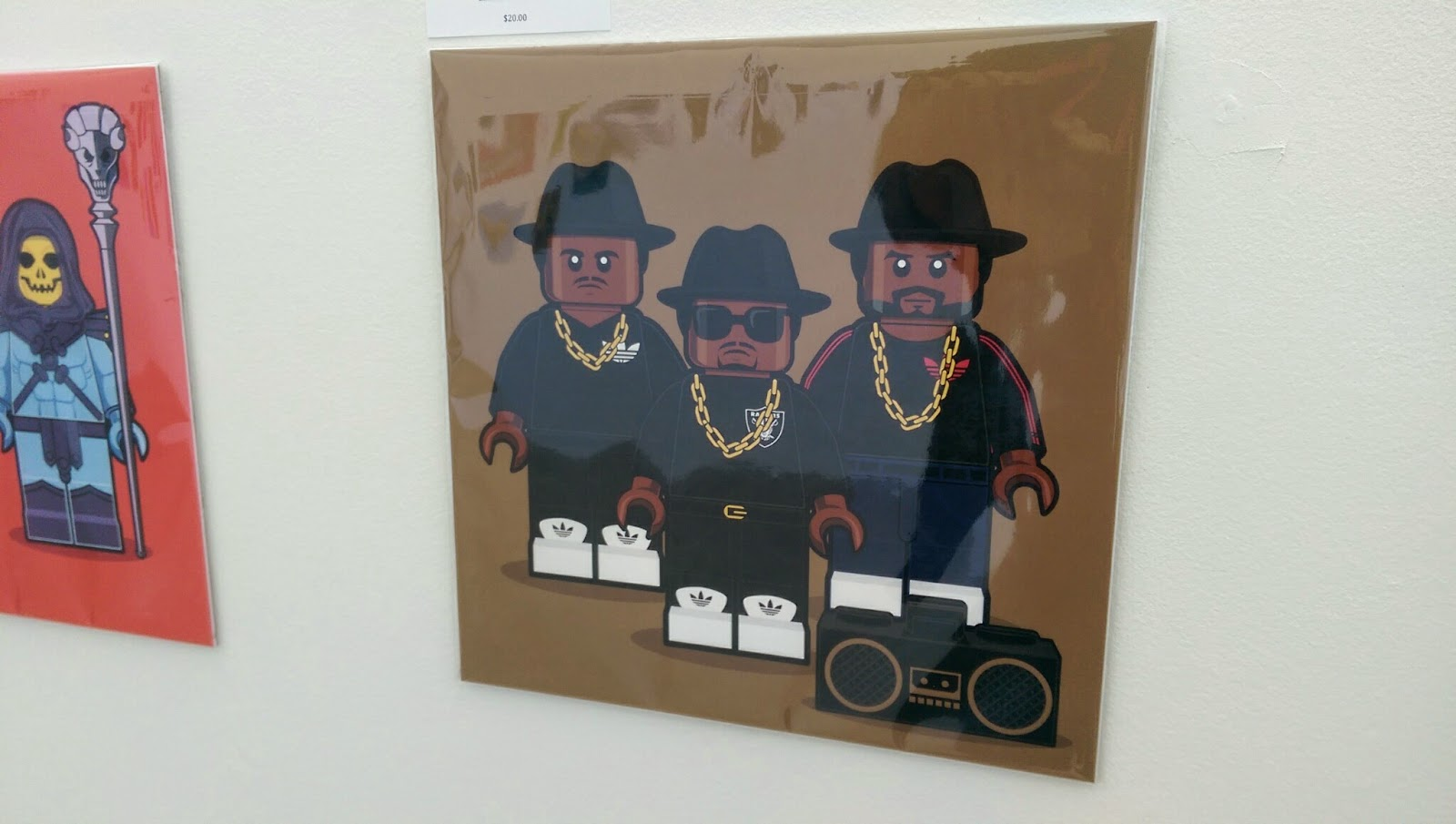 Hero Complex Gallery - LEGO Memories: RUN-DMC
