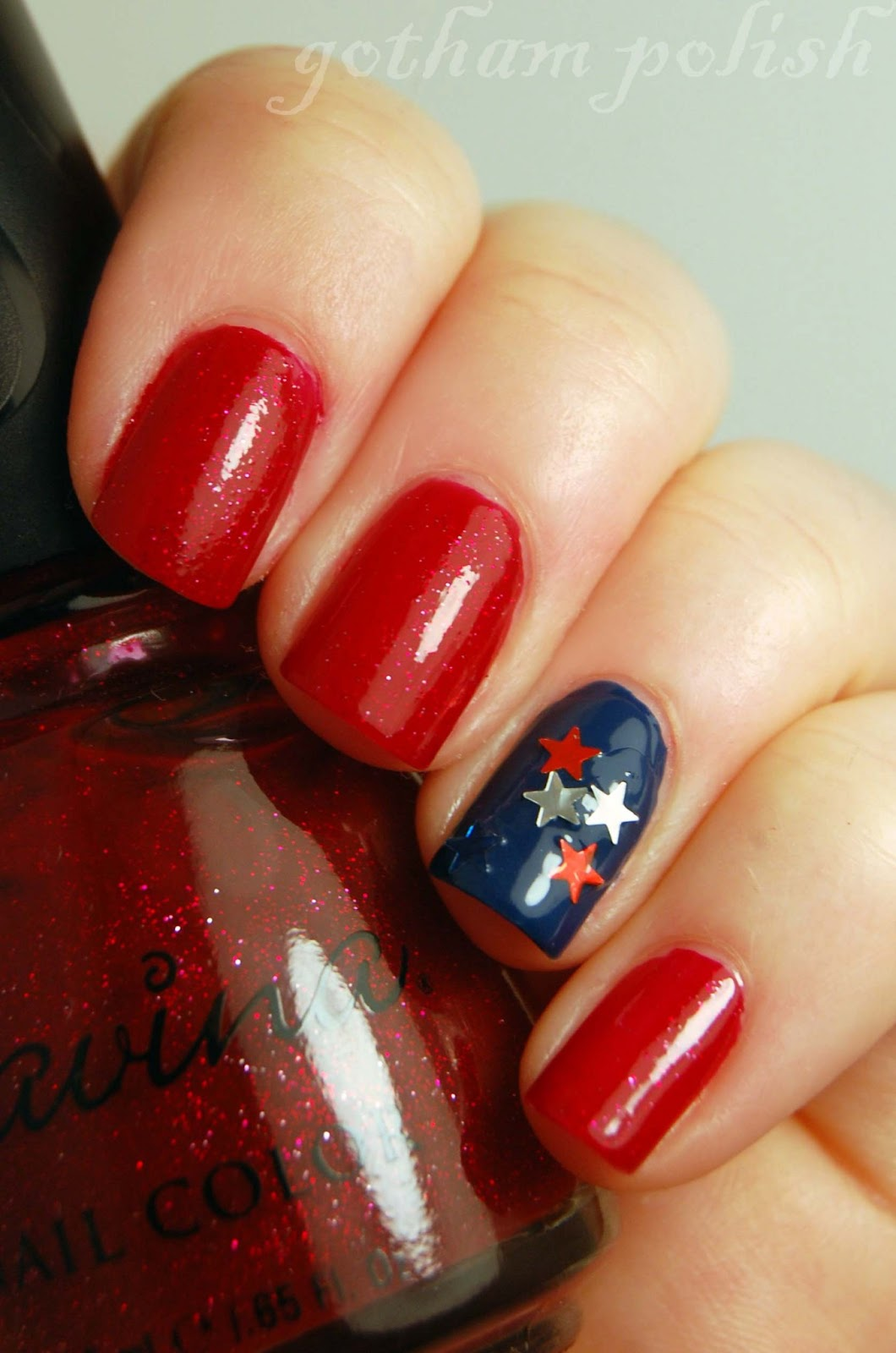 Cute 4th of July Nails Designs | Simple 4th of July Nails Ideas. This is a great celebration for your nail parties, be creative with the design, and make these designs on your fingernails and give them enough time to dry properly. Otherwise, your hard work can be ruined. So, take care of these nail art designs with the necessary precautions.