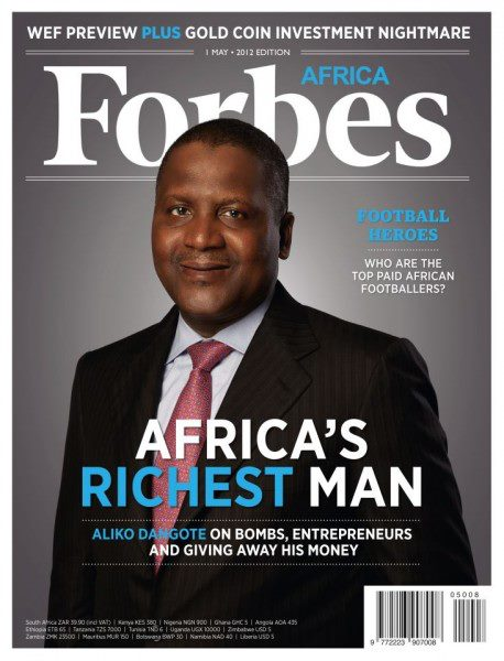 See List Of Top 10 Richest Nigerians In 2017