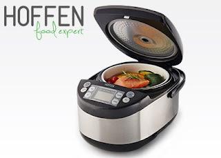 Wielofunkcyjne urządzenie do gotowania multicooker Hoffen Food Expert z Biedronki