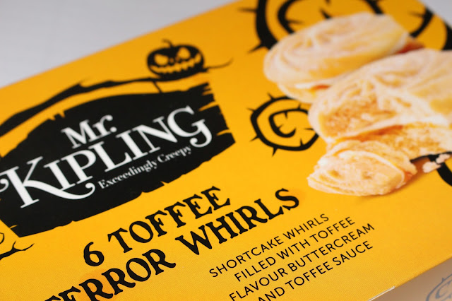 Mr. Kipling Toffee Terror Whirls