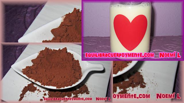 cacao y almendras