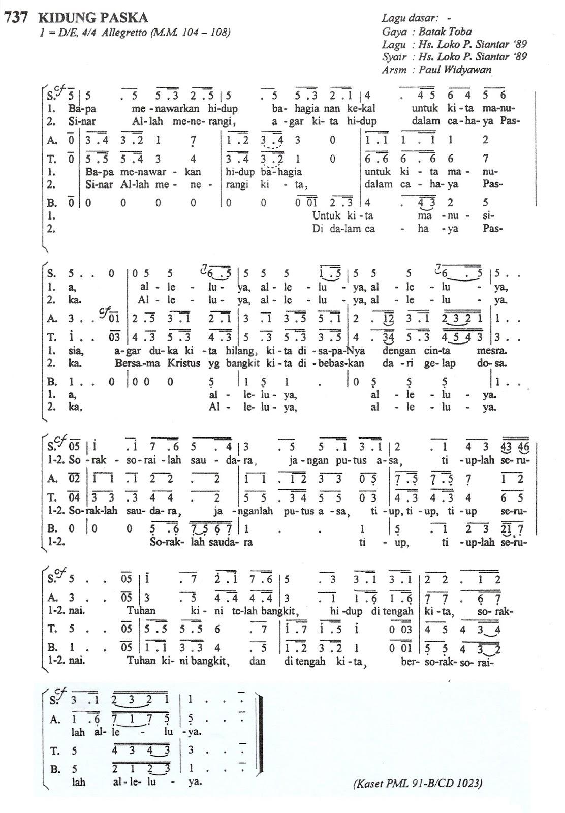 St Caecilia Choir Mkw: Kidung Paskah