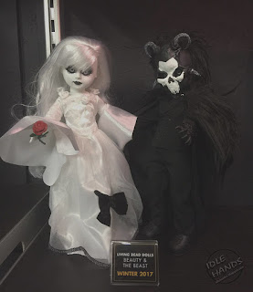 Toy Fair 2017: Mezco's Horror Toys Living Dead Dolls Beauty and the Beast