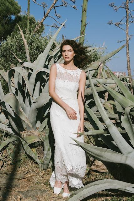 Vestidos de novia con crop tops de Otaduy