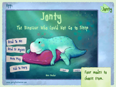 Jonty the dinosaur, app, ipad app, app review, apps, ipad,