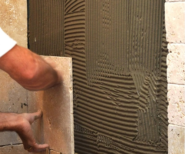 Terra antiqva como colocar azulejos en el ba o azulejos - Baldosas gresite para banos ...